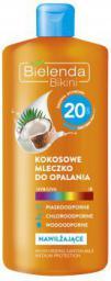 Bielenda Mleczko kokosowe SPF 20