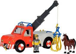 Simba Strażak Sam Pojazd Phoenix z figurką i koniem