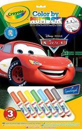 KOLOROWANIE PO NUMERACH DISNEY CARS - zakupy dla firm - CR 55521