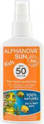 Alphanova Sun Bio Spray Przeciwsłoneczny, filtr SPF50