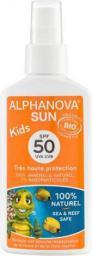 Alphanova Sun KIDS, Bio Spray Przeciwsłoneczny, filtr 50 (ASL06840)