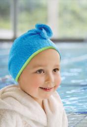 Cuddledry Ręcznik na Włosy Niebieski (D01341)