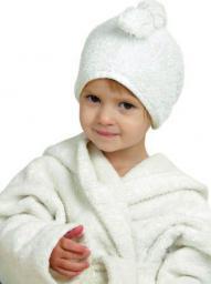 Cuddledry Ręcznik na Włosy Biały (D02345)