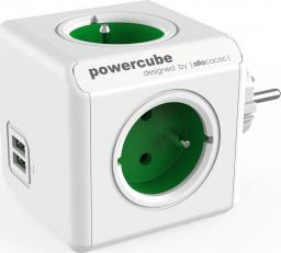 PowerCube Rozgałęźnik Original USB zielony (2202GN/FROUPC)
