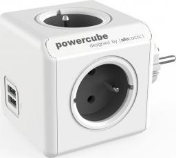 PowerCube Rozgałęźnik Original USB szary (2202GY/FROUPC)
