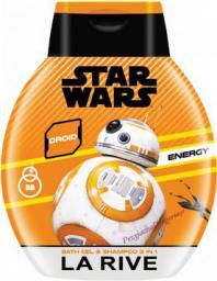 La Rive Disney Star Wars Żel pod prysznic 2w1 Droid 250ml