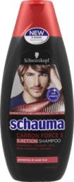 Schwarzkopf Schauma Carbon Force 5 Szampon do włosów 400ml
