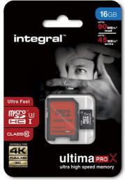 Karta Integral MicroSDHC 16GB UHS-I U3 (T_0013737)