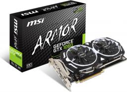 Karta graficzna MSI GeForce GTX 1060 OC V1 3GB GDDR5 (192 Bit) 2xHDMI, DVI, 2xDP (GTX 1060 ARMOR 3G OCV1)