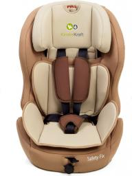 Fotelik samochodowy KinderKraft Safety-Fix Beżowy (KKSAFEXBEGISFX)