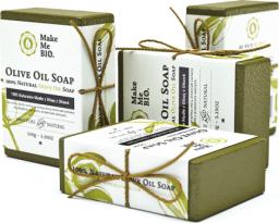 Make Me Bio 100% Naturalne Mydło z Oliwy z Oliwek 100g