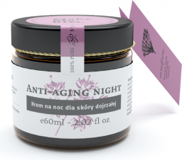 Make Me Bio Anti-aging night Krem na noc dla skóry dojrzałej 60ml