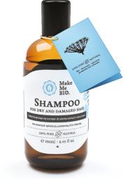 Make Me Bio Delikatnie pieniący się szampon do włosów suchych i zniszczonych 250ml