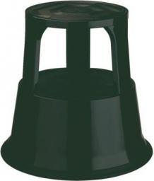 Desq Taboret biurowy stopa słonia, czarny  (60065.09)