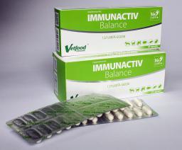 Vetfood Immunactiv Balance blister 120 kaps.