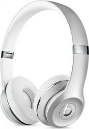 Słuchawki Apple Beats Solo3 Wireless – srebrne (MNEQ2ZM/A)