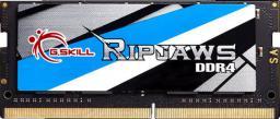 Pamięć do laptopa G.Skill Ripjaws DDR4 SODIMM 8GB 3000MHz CL16 (F4-3000C16S-8GRS)