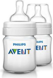 Avent Butelka niemowlęca CLASSIC+ (SCF560/27) 125ml 0m+ 2 sztuki