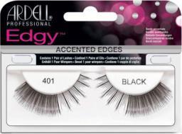 Ardell Edgy 401 czarne (W) sztuczne rzęsy
