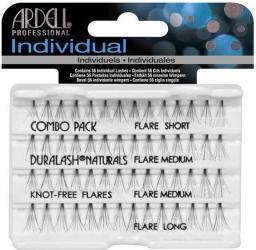 Ardell Individuals Combo Pack - kępki sztucznych rzęs 56 szt