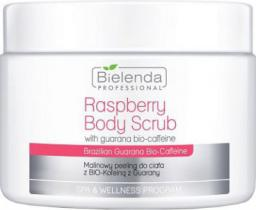 Bielenda Professional Raspberry Body Scrub With Guarana Bio-Coffeine Peeling do ciała 550g