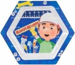 Dajar Talerz M.Handy Manny niebieski (DAJ253)