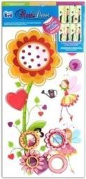 Starpak Dekoracja ścienna, Kwiaty (RDA5202-MC)