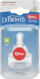 Dr. Browns Smoczek standard 2szt. (QU0039)