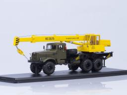 SSM Truck Crane KS-3575 KRAZ-255B