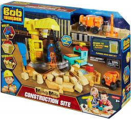 Mattel Bob Budowniczy Plac budowy + kinetyczny piasek DMM55 - (367185)