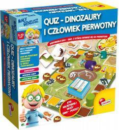 Lisciani Maly Geniusz, Quiz - Dinozaury i czlowiek pierwotny - P54374