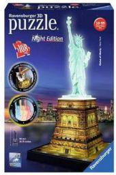 3D Statua Wolności noc - 125968
