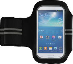 GreenGo Pokrowiec na ramię Super Fit 4,7'' (Samsung S V mini) czarny - GSM011206