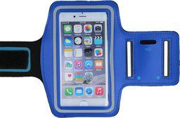 GreenGo Pokrowiec na ramię Premium XL (iPhone 4) niebieski - GSM005039