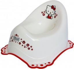 Maltex Nocnik z gumkami antypoślizgowymi i z pozytywką Hello Kitty biały (000463)