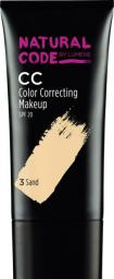 Lumene Natural Code CC Color Correcting Makeup SPF20 Podkład 3 Sand 25ml