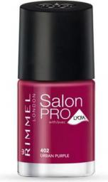Rimmel Salon Pro lakier do paznokci 402 Urban Purple 12ml