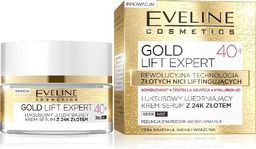Eveline Eveline Gold Lift Expert 40+ Krem-serum ujędrniający na dzień i noc  50ml