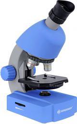 Mikroskop Bresser Junior 40x-640x Niebieski (8851300WXH000)