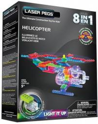 Laser Pegs 8 in 1 Helicopter  (G1270B)