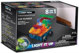 Laser Pegs 8 in 1 Car Runner (RN1320B)