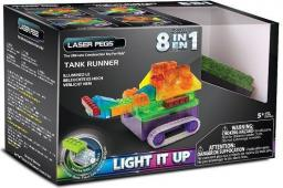 Laser Pegs 8 in 1 Tank Runner (RN1330B)