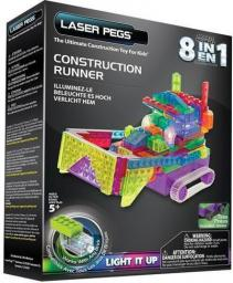 Laser Pegs 8 in 1 Construction Runner (RN2170B)