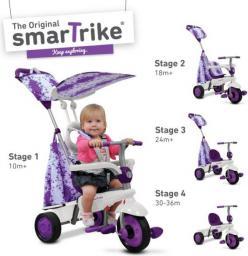 Smart Trike Rowerek Spirit 4 w 1 fioletowy (SMART0068)