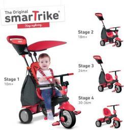 Smart Trike Rowerek Glow 4 w 1 czerwony (SMART0070)