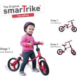 Smart Trike Rowerek biegowy czarno-czerwony (SMART0066)