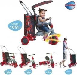 Smart Trike Rowerek Trike & GO czerwony (SMART0040)