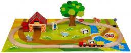 Baby&More KLOCKI DREWNIANE-FARMA 40SZT. (MAK015)