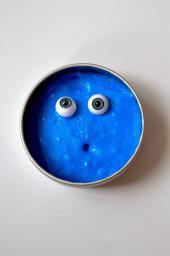 Sprytna Plastelina Potworek Niebieska (169295)