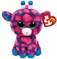 TY Beanie Boos Sky High - Różowa Żyrafa 15cm (210262)